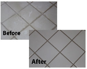 Color Seal Your Grout For Life - Cleaning white grout in shower